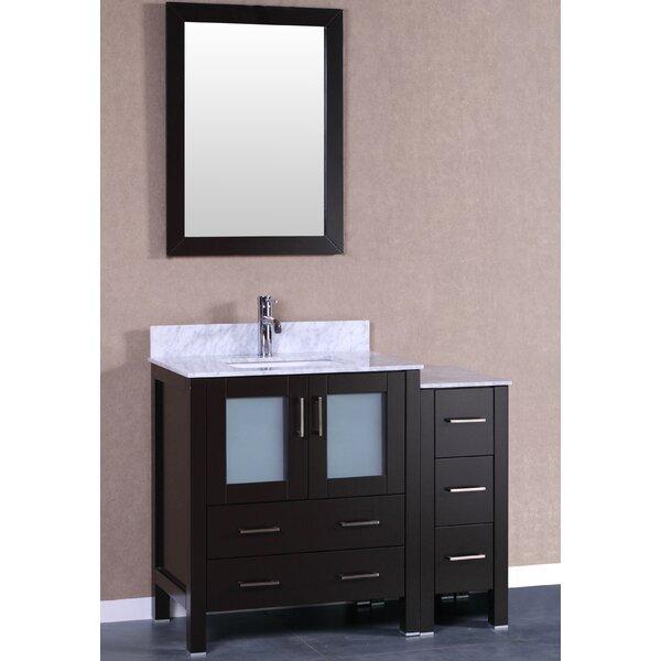 Breakwater Bay Lucey 42 Single Bathroom Vanity Set With Mirror Wayfair