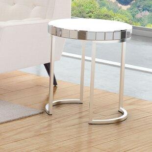 Aleia End Table by Orren Ellis
