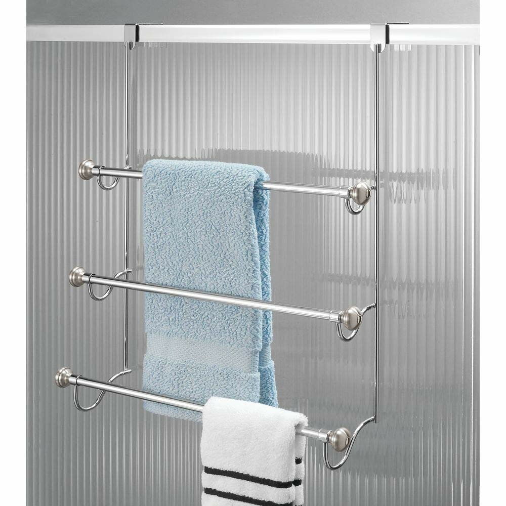 Rebrilliant Norris Over The Door Towel Rack Reviews Wayfair