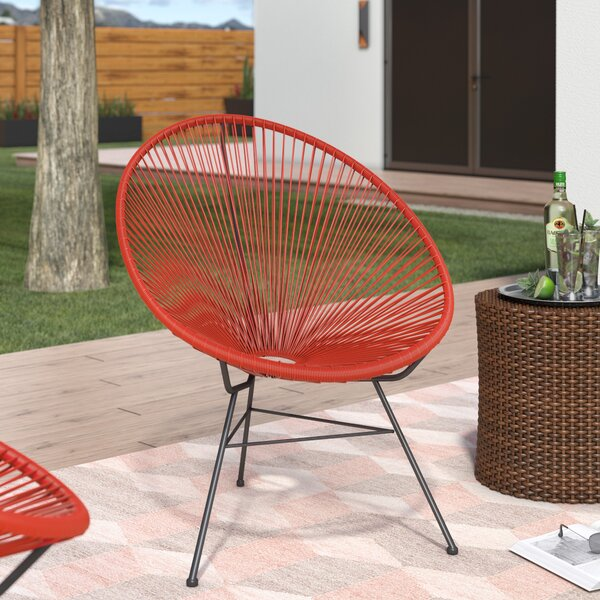 Incroyable Ivy Bronx Bradley Acapulco Papasan Outdoor Chair | Wayfair
