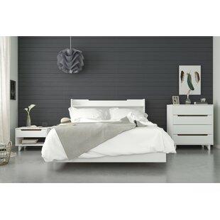 League Platform 4 Piece Bedroom Set by Ebern Designs