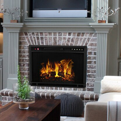 Gibson Living Ventless Wall Mount Electric Fireplace Insert ...