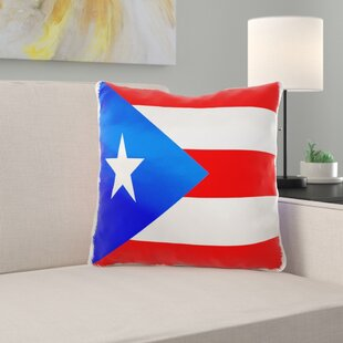 Giverny Puerto Rico Flag Pillow Cover