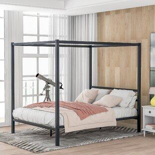 Ahonesti Queen Canopy Bed by Latitude Run