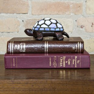 Bay Isle Home Canereed Stained Glass LED Wireless Turtle 2.5