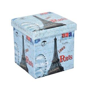 Barreras Eiffel Storage Ottoma..