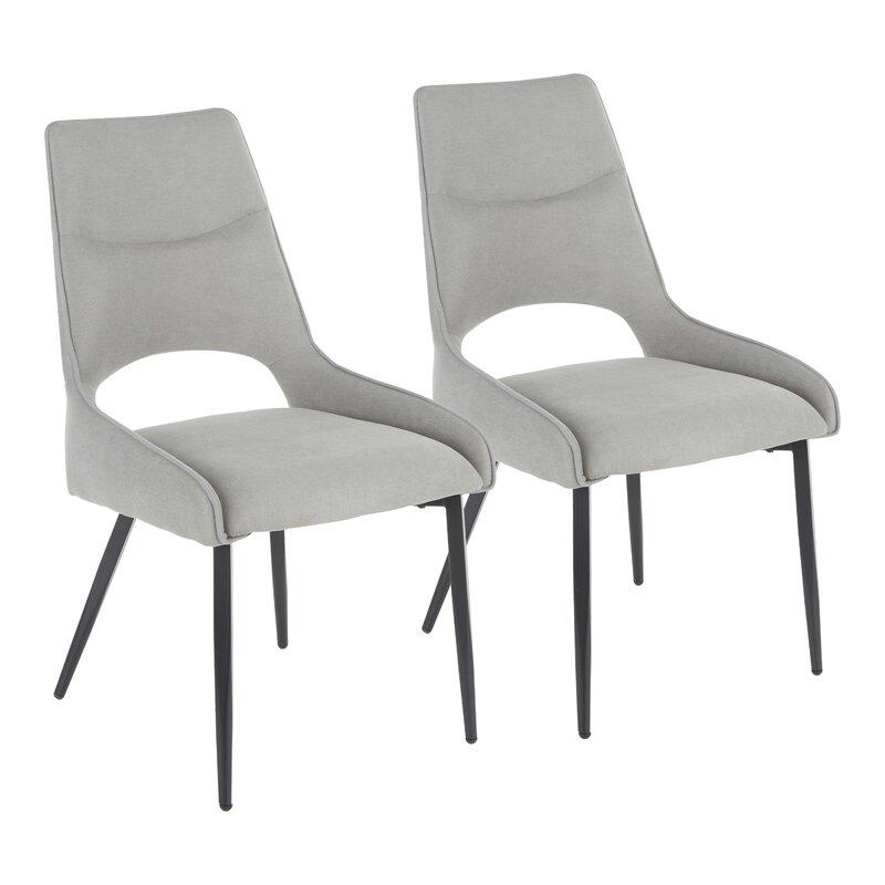 Everly Quinn Abel Upholstered Side Chair Wayfair
