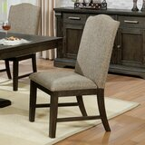 Steinbeck Upholstered Dining Chair (Set of 2) by Canora Grey