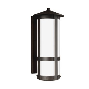 Best Reviews Redd 1-Light Outdoor Sconce By Brayden Studio