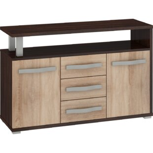 Deramus 3 Drawer Combi Chest By 17 Stories