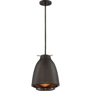 Marco 1-Light LED Cone Pendant by Wrought Studio