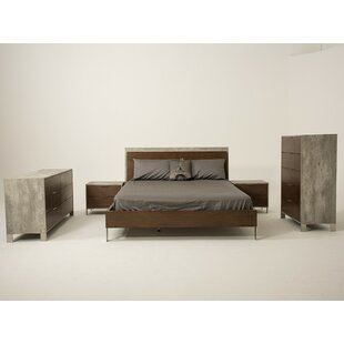 Kiera 4 Piece Bedroom Set by 17 Stories