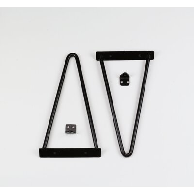 Tronk Design Adams Shelf Bracket Finish: Black