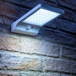 Fulda LED Solar Outdoor Flush Mount With Motion Sensor By Sol 72 Outdoor
