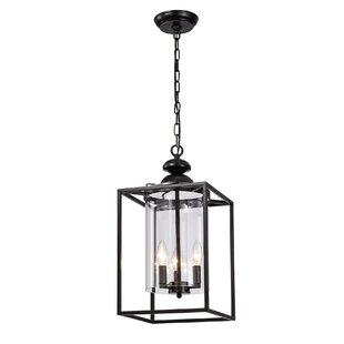 Charlton Home Caddell 3-Light Lantern Pendant