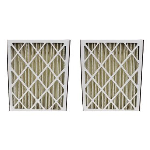 Goodman G8-1056 and M8-1056 Pleated Furnace Air Filter (Set of 2)
