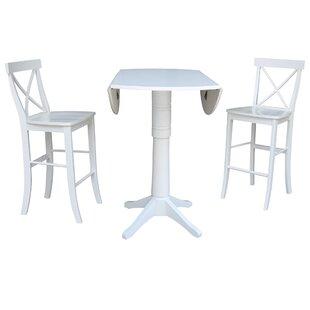 Kimbrough 3 Piece Pub Table Set