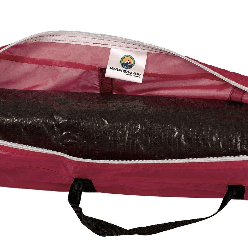Happy C&er 2 Person Tent with Carry Bag  sc 1 st  Wayfair & wakeman Happy Camper 2 Person Tent with Carry Bag u0026 Reviews   Wayfair