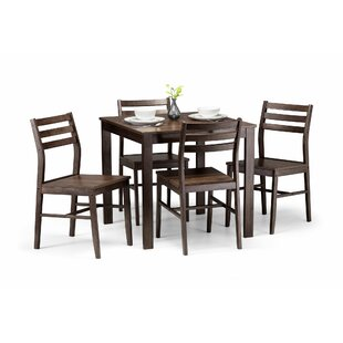 Corliss Dining Set With 4 Chairs By ClassicLiving