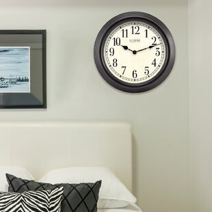 Purchase 15 Antique Analog Wall Clock by La Crosse Technology