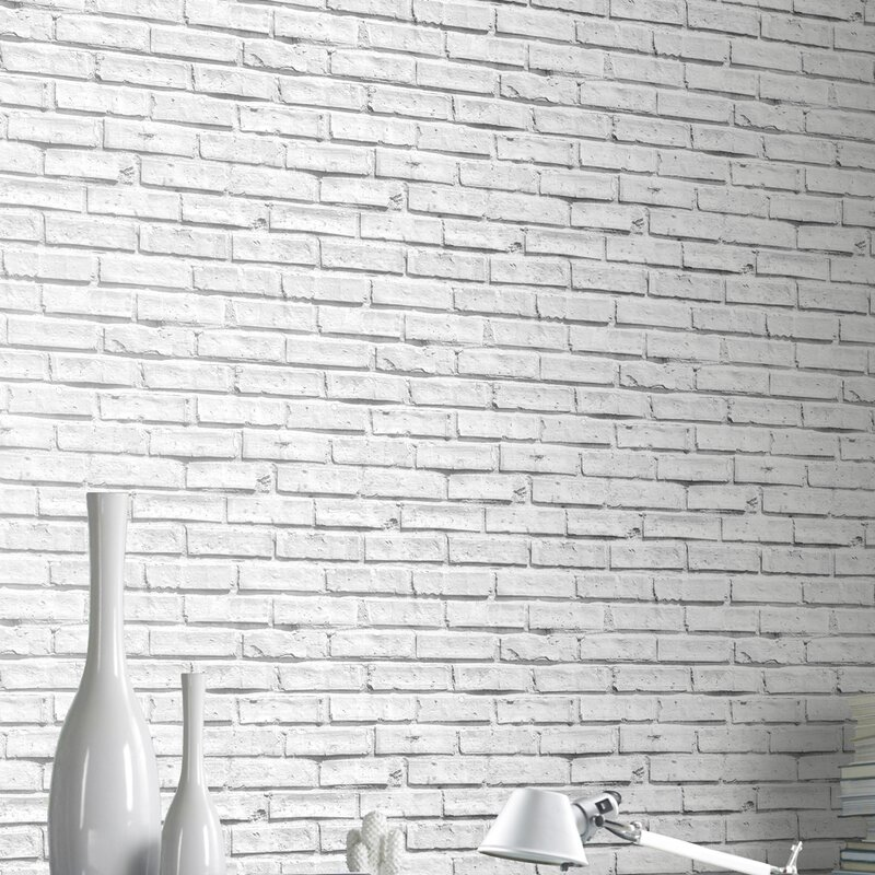 Best Brick Wallpaper Ideas, White Brick Wallpaper, Brick Effect Wallpaper