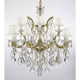 House of Hampton Keenum 13-Light Shaded Chandelier