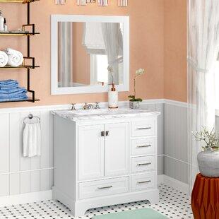 Stian 36 Single Sink Bathroom Vanity Set with Mirror ByWilla Arlo Interiors