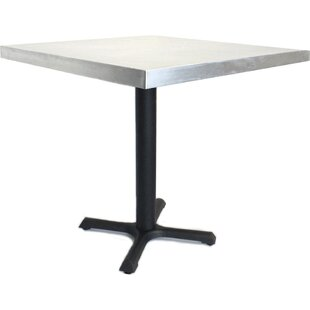30 in. Square Dining Table Mio Metals