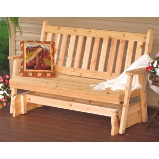 Gavina Traditional English Glider Bench
