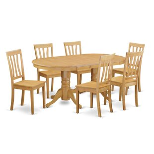Rockdale 7 Piece Solid Wood Dining Set DarHome Co