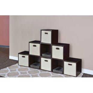 Castillo Cube Unit Bookcase (Set Of 9) By Rebrilliant