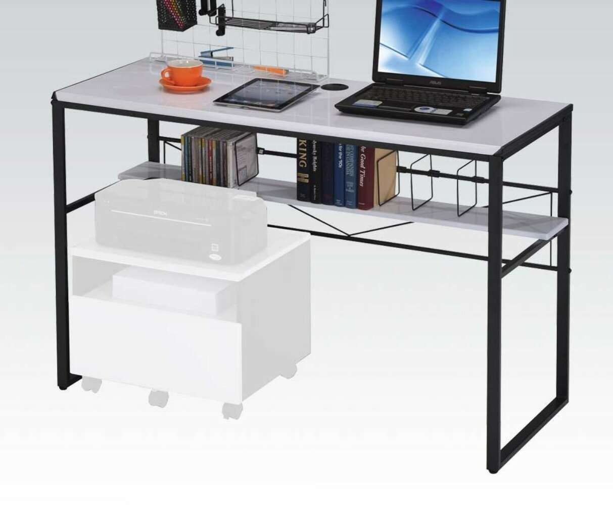 Symple Stuff Prickett Computer Desk with File Cabinet | Wayfair