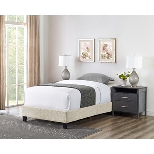 Prentice Basic Upholstered Panel Bed