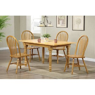 Banksville Butterfly 5 Piece Dining Set b..