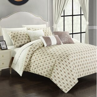 One Allium Way Zacarias Reversible Comforter Set