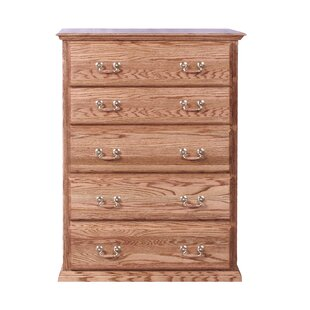 Loon Peak Lacluta 5 Drawer Chest