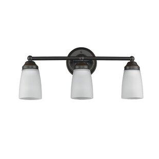 Comparison Candelaria 3-Light Vanity Light By Charlton Home