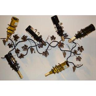 6 Bottle Wall Mounted Wine Rack by J & J ..