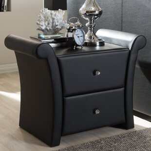 Genoa 2 Drawer Nightstand