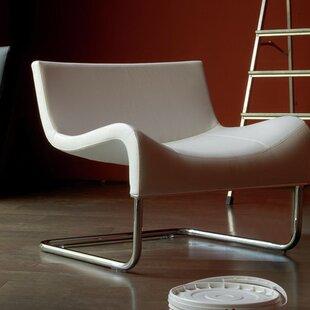 B&T Design Mono Eco Leather Lounge Chair