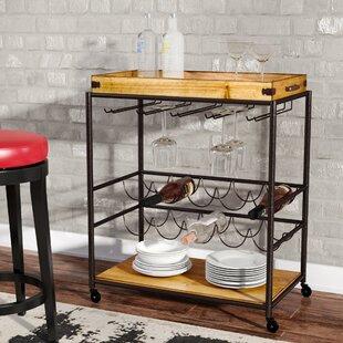 Vintage Bar Cart >> Bar Carts Wayfair