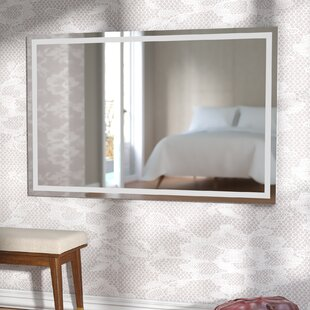 Aluminum Frame Electric Wall Mirror By Wade Logan
