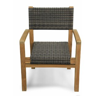 Lerwick Stacking Teak Patio Dining Chair