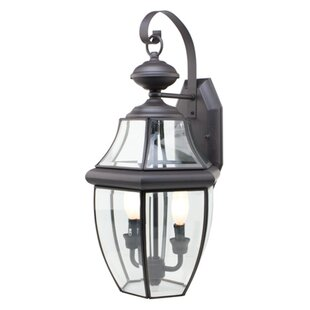 Thiel 2-Light Outdoor Wall Lantern By Darby Home Co Outdoor Lighting