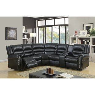 Ugarte Modern Reclining Sectional Red Barrel Studio