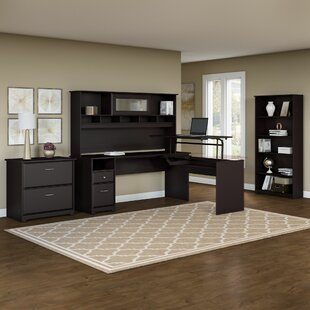 Hillsdale 5 Piece L-Shaped Desk Office Suite