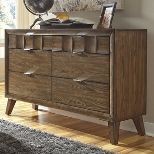 Brayden Studio Despina 6 Drawer Double Dresser Image