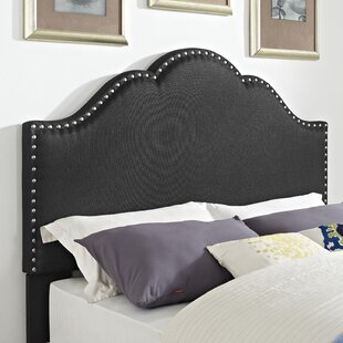 Compare prices Hook Upholstered Panel Headboard by Alcott Hill