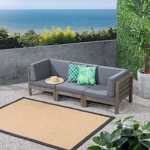 Find Kronqui Patio Sofa with Cushions Great price