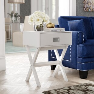 Kathleen End Table With Storage ByZipcode Design